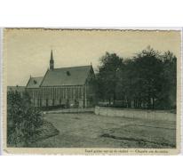 Kapel gezien vanop de viaduct, Sint Franciscusinstituut, Melle