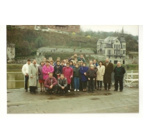 Weekenduitstap CSC, La Roche, begin jaren 1990