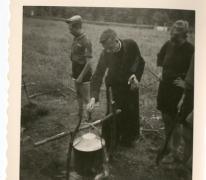 Chiro Melle, roeren in de kookpot, Ardennen, 1962