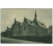 Zicht op de kapel, Sint Franciscusinstituut, Melle