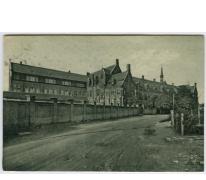 Sint Franciscusinstituut, Melle, zicht vanuit de Tuinstraat