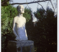 """Standbeeld van """"De Muntenaar"""""""