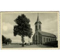 Dorpplaats met Sint Martinuskerk, Melle