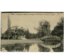 """Kasteel De Varens, vroeger Kasteel """"Les Fougères"""",orangerie, Melle, 1907"""