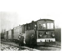 Tram van de lijn Wetteren-Zottegem, Oordegem, 1e helft 20e eeuw.