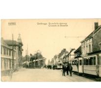 Trams van de lijn Gentbrugge-Melle, Gentbrugge.