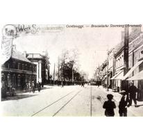 Tramlijn Gent-Melle, Genbrugge,1920.