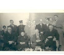 Diamanten huwelijksjubileum, Sint-Lievens-Houtem, 1955