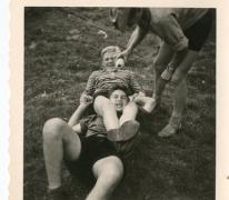 Chiro Melle op kamp in de Ardennen, 1962