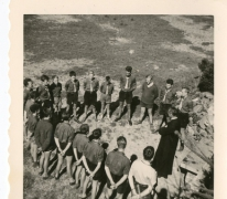 Chiro Melle, gebed, Ardennen, 1962