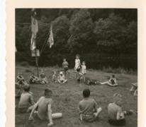 Chiro Melle, spelen, Frahan, Ardennen, 1962