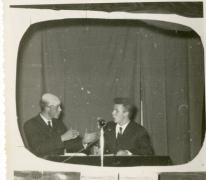 Chiro Melle, groepsfeest, het journaal,1963