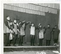 Chiro Melle, mime opvoering, Melle, 1963