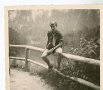 Chiro Melle, onderweg, Bach, Oostenrijk, 1964