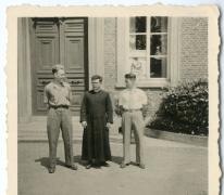 Chiro Melle, Daniël Maes, pater Bavo, Antoine Mortier, omstreeks 1943- 1947