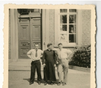 Chiro Melle, Gaston Eyskens, pater Bavo, Antoine Mortier, 1943- 1947