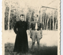 Chiro Melle, pater Bavo en Antoine Mortier, 1943- 1947