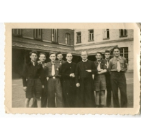 Chiro Melle, paters en leiding van de Chiro Melle, 1943- 1947