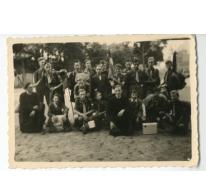 Chiro Melle, groepsfoto op kamp, 1943- 1947