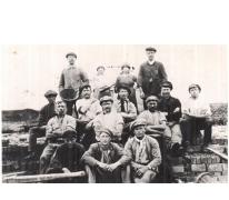 Groepsfoto arbeiders, 1920