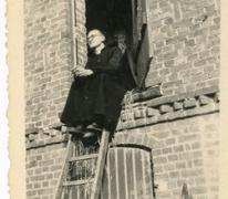 Chiro Melle, pater George, Bonheiden, 1945