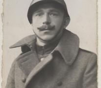 Portret van Achiel Haegeman, 1914-1918