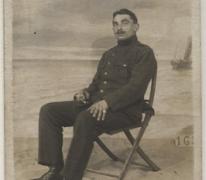 Portret van Georges Haegeman, 1916