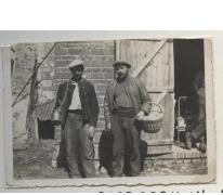 Seizoenarbeiders op de boerderij in Frankrijk, 1936-1937