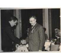 Prijsuitreiking, Laureaat van de Arbeid, Gent, 1958-1959