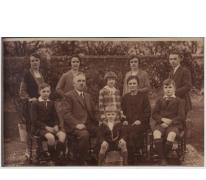 Familiefoto Richard Landuyt, Sint-Lievens-Houtem, 1925-1935