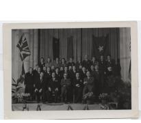 Gedecoreerde werknemers, fabriek Saey, Sint-Lievens-Houtem, na 1936