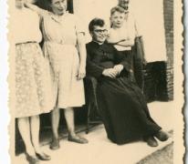 Chiro Melle, pater Bavo in Bonheiden, 1945