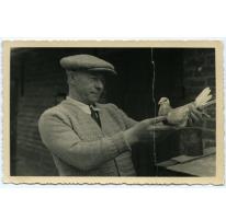 Dooreman Jozef en duif, Sint-Lievens-Houtem, 1951
