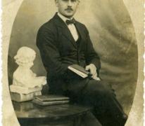 Portret Prosper De Moor, Sint-Lievens-Houtem, 1920-1930