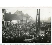 Paarden op Houtem Jaarmarkt, Sint-Lievens-Houtem, 1937-1938