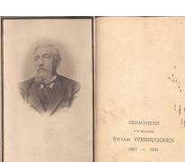 Bidprentje Sylvain Verbrugghen, Sint-Lievens-Houtem, 1931