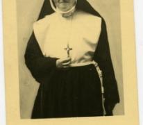 Portret van zuster Gratienne, Sint-Lievens-Houtem, 1947-1967