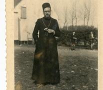 Chiro Melle, pater Frederique, op kamp, 1943- 1947