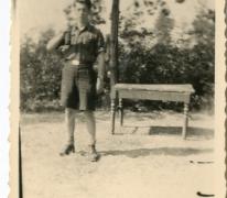 """Chiro Melle, Antoine Mortier op """"de campagne"""" , Heverlee, 1943- 1947"""