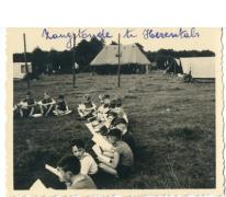 Zangstonde kamp chiro Melle, Herentals, 1954