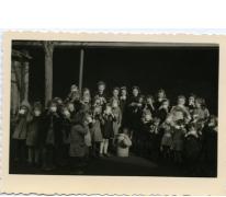 Winterhulp voor schoolkinderen, Sint-Lievens-Houtem, 1943
