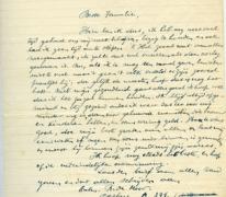 Brief van pastoor Richard De Moor, Sint-Lievens-Houtem