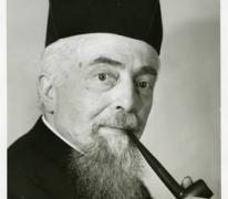 Portret Alfons Van den Bossche, Sint-Lievens-Houtem