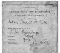Raadpleging voor zuigelingen, Oosterzele, 1942