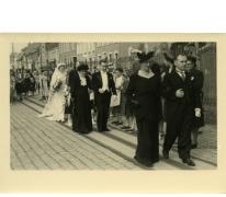 Huwelijk Michel Landuyt en Alice Dooreman, Sint-Lievens-Houtem, 1949