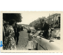 Een bloempot voor burgemeester Otte, Sint-Lievens-Houtem, 1959