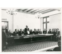 Speech burgemeester Van Hecke opening gemoderniseerd gemeentehuis, Oosterzele, 1976
