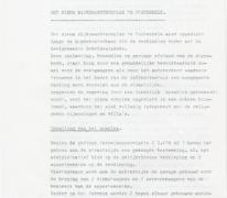 Beschrijving van de nieuwe rijkswachtkazerne, Oosterzele, 1985