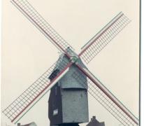 Vinkemolen voor restauratie en molenhuis, Oosterzele, voor 1969