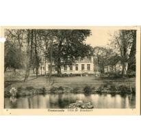 Postkaart van de villa van dhr. Bouckaert, Oosterzele